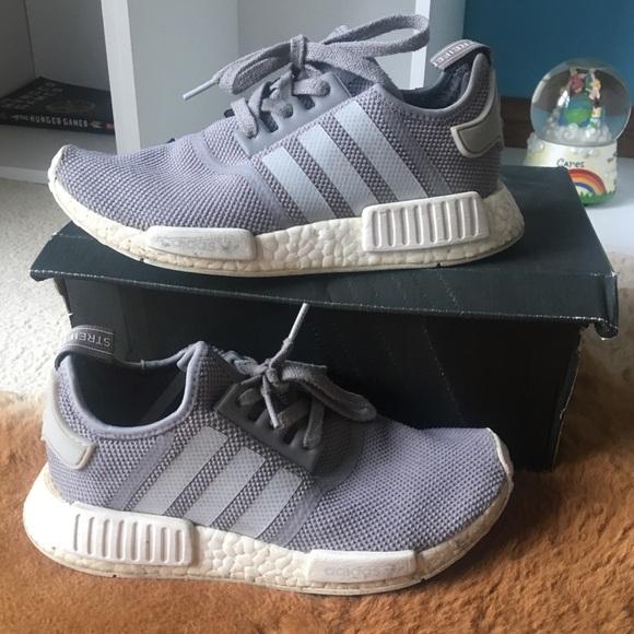 Adidas Shoes Grey Nmd R1 Original Size 6 Youth 75 Women Poshmark